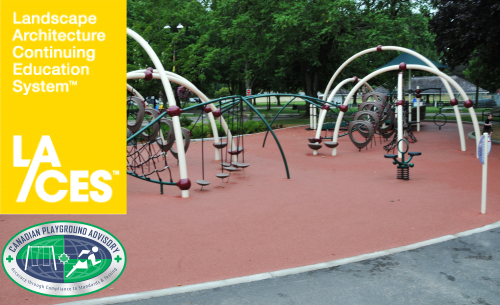 Landscape Architect CEU credit course Ground Level Accessible Routes Compliance & Solutions in Playgrounds